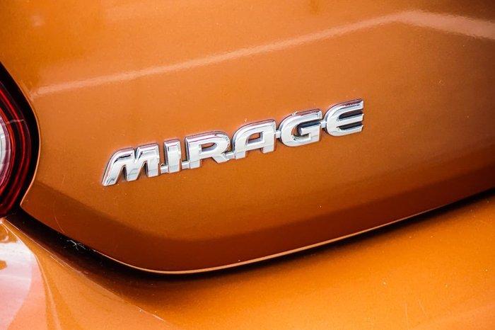 2015 Mitsubishi Mirage ES LA MY15 Orange