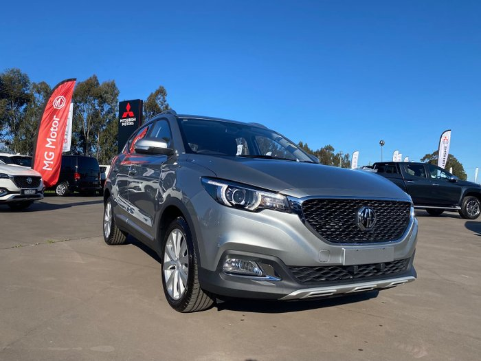 2021 MG ZS Excite AZS1 MY21 Sloane Silver