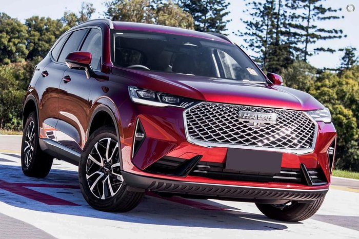 2021 Haval H6 Lux B01 Drive Type: Burgundy Red