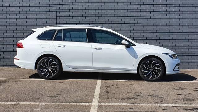 2021 Volkswagen Golf 110TSI Life 8 MY21 PURE WHITE