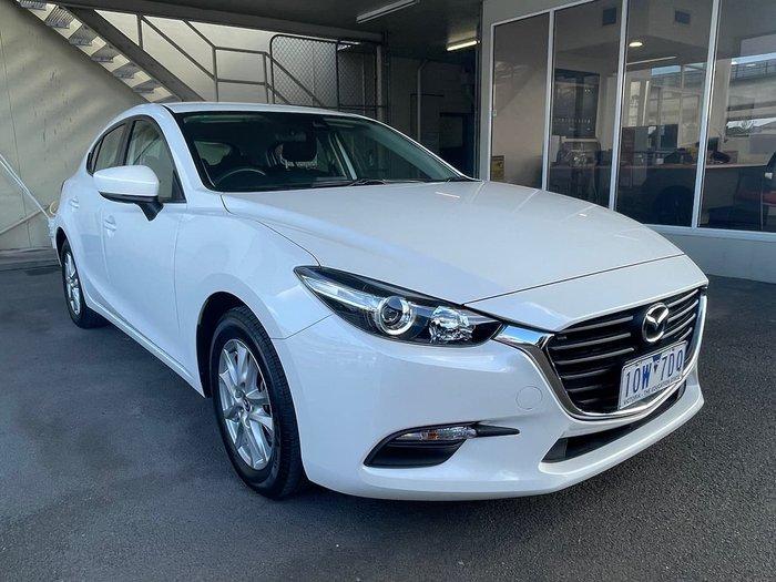 2018 Mazda 3 Neo Sport BN Series White