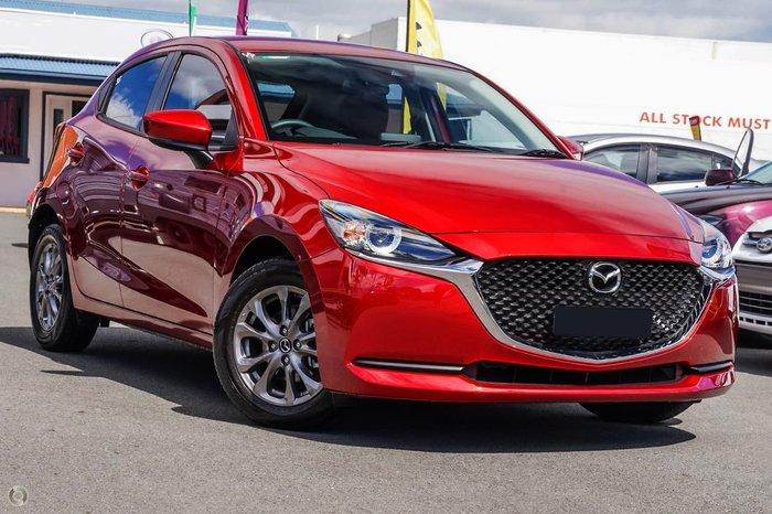 2021 Mazda 2 G15 Pure DJ Series Red