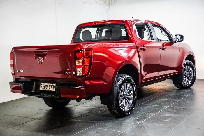 2020 Mazda BT-50 XT TF 4X4 Dual Range Red