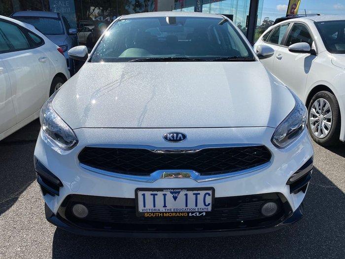2021 Kia Cerato S BD MY21 White
