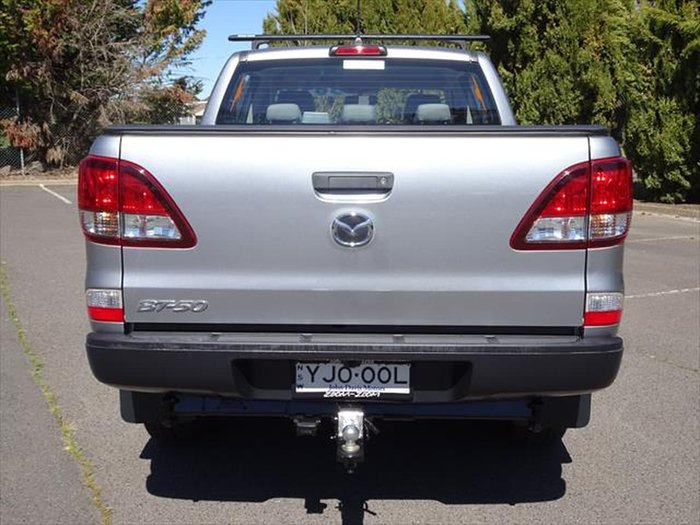 2019 Mazda BT-50 XT Hi-Rider UR Silver