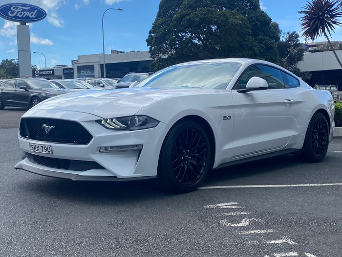 2020 Ford Mustang GT FN MY20 Oxford White