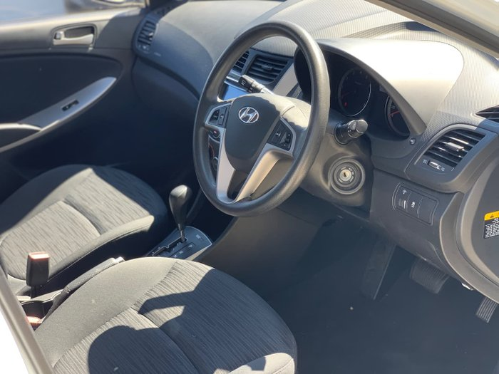 2015 Hyundai Accent Active RB3 MY16 Crystal White