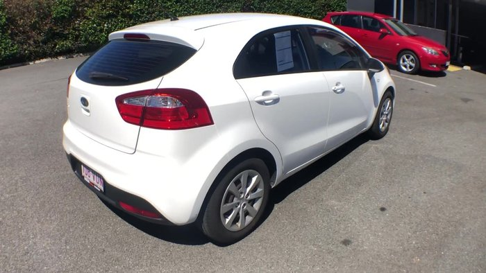 2012 Kia Rio S UB MY12 White