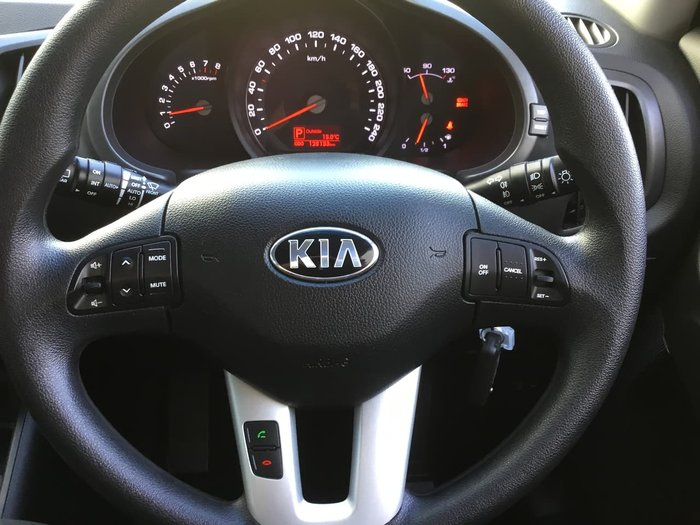 2013 Kia Sportage Si SL Series II MY13 White