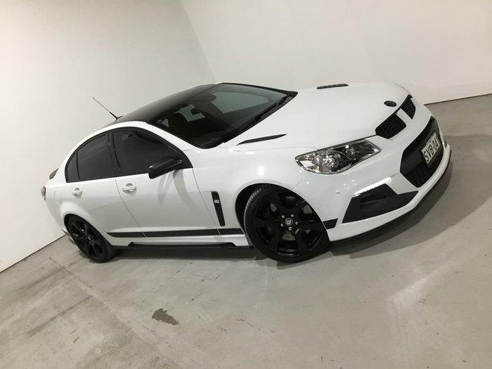 2016 Holden Special Vehicles Clubsport R8 SV Black GEN-F2 MY16 White