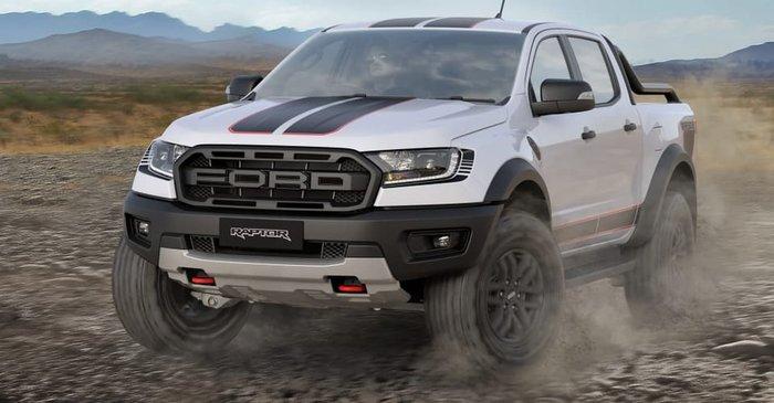 2021 Ford Ranger Raptor X PX MkIII MY21.75 4X4 Dual Range Arctic White