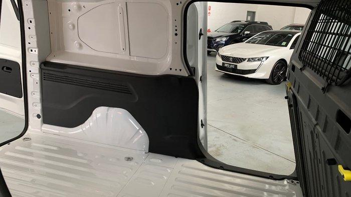 2021 Peugeot Partner K9 MY21 White