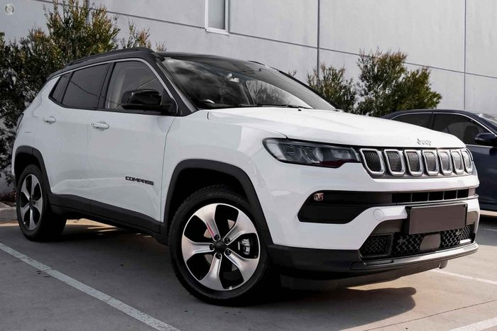 2021 Jeep Compass Launch Edition M6 MY21 Bright White
