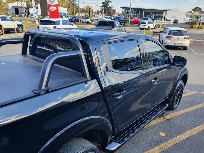 2018 Mitsubishi Triton Blackline MQ MY18 4X4 Dual Range Black