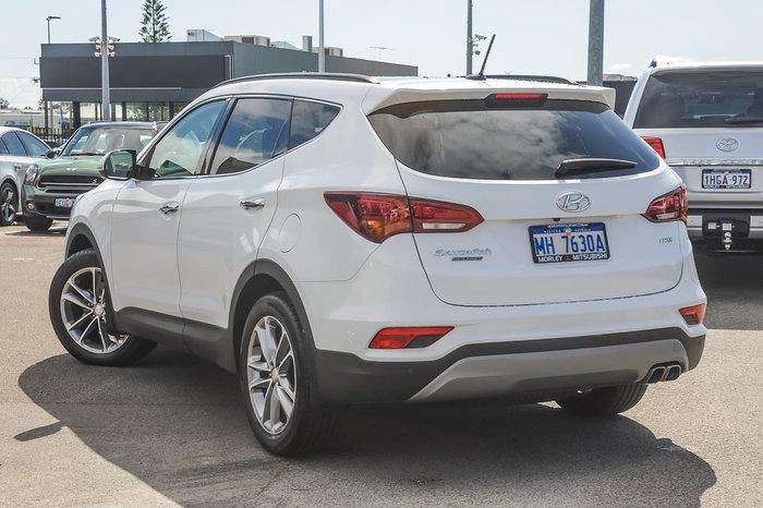 2018 Hyundai Santa Fe Highlander DM5 Series II MY18 4X4 On Demand White