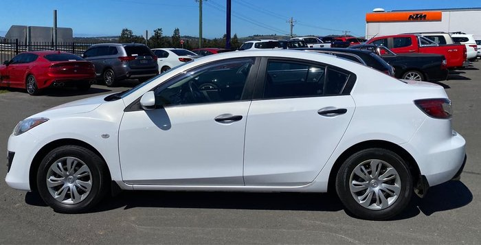2010 Mazda 3 Neo BL Series 1 White