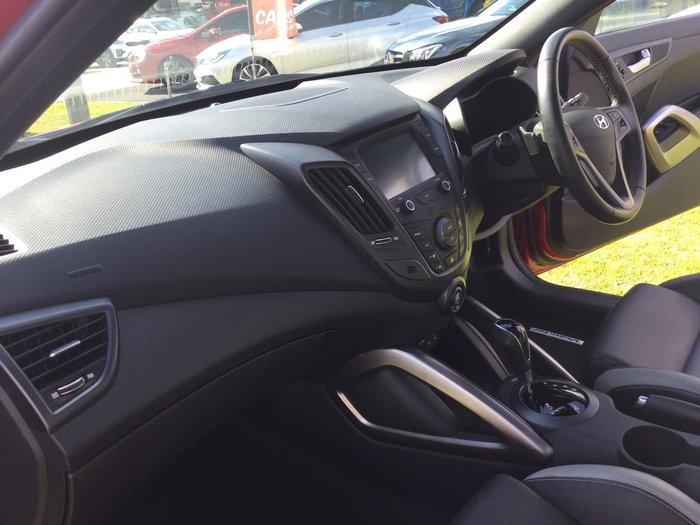 2017 Hyundai Veloster SR Turbo FS5 Series II Red