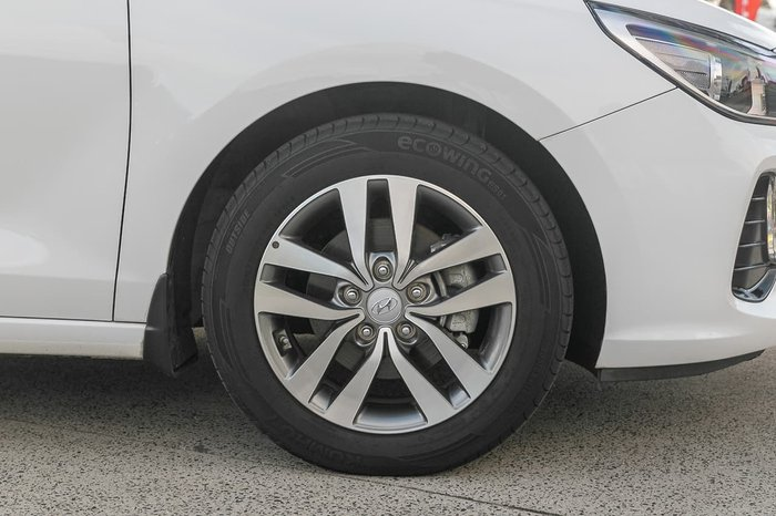 2019 Hyundai i30 Active PD2 MY19 White
