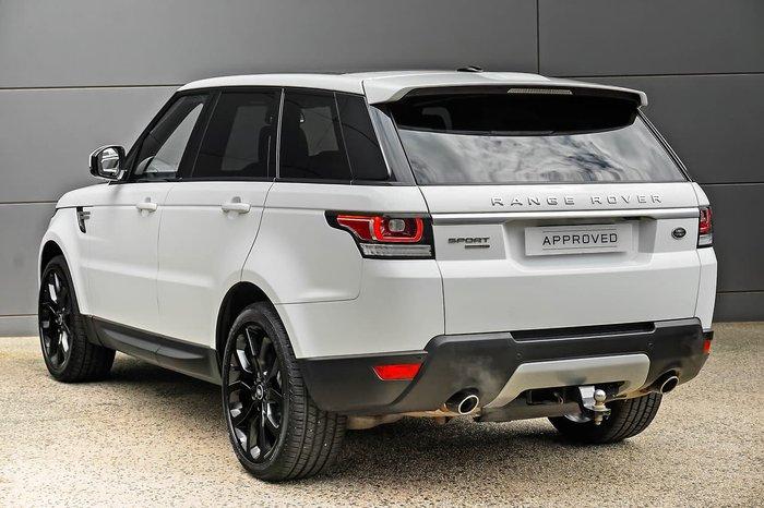 2016 Land Rover Range Rover Sport V6SC HSE L494 MY16.5 4X4 Constant White