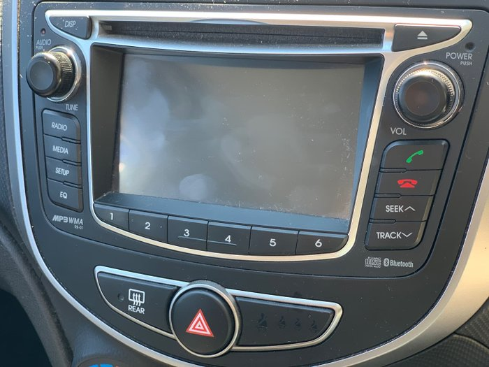 2015 Hyundai Accent Active RB2 MY15 Crystal White