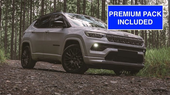 2021 Jeep Compass S-Limited M6 MY21 4X4 On Demand GREY MAGNESIO WITH PREMIUM PAC