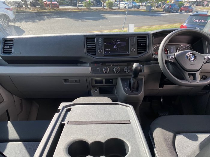 2019 Volkswagen Crafter Minibus TDI410 SY1 MY19 Candy White