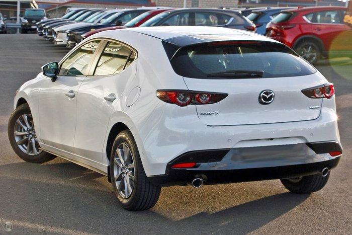 2021 Mazda 3 G20 Pure BP Series White