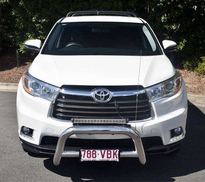 2014 Toyota Kluger GX GSU55R AWD White
