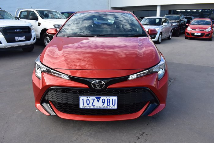 2018 Toyota Corolla Ascent Sport MZEA12R Volcanic Red