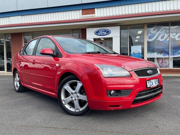 2006 Ford Focus Zetec LS Red