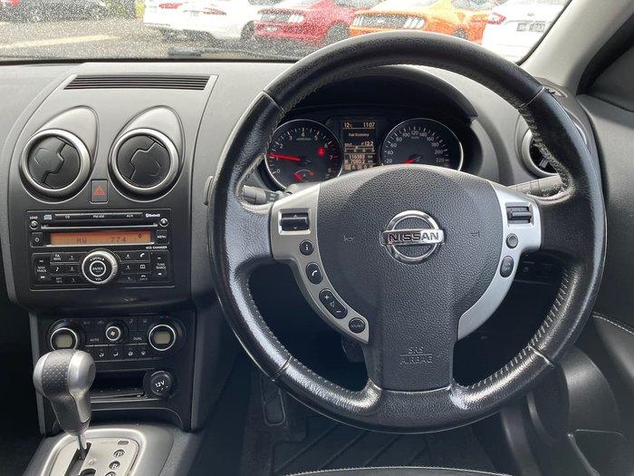 2010 Nissan Dualis Ti J10 Series II MY10 AWD Black