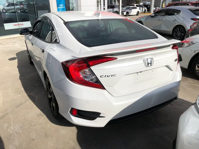 2016 Honda Civic RS 10th Gen MY16 White Orchid