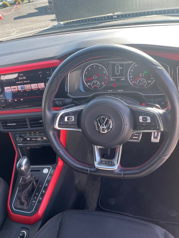 2018 Volkswagen Polo GTI AW MY18 Reef Blue