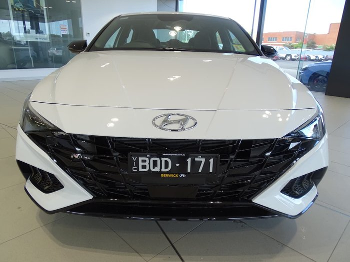 2021 Hyundai i30 N Line CN7.V1 MY21 White