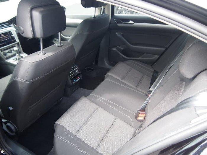 2018 Volkswagen Passat 132TSI Comfortline B8 MY18 Black