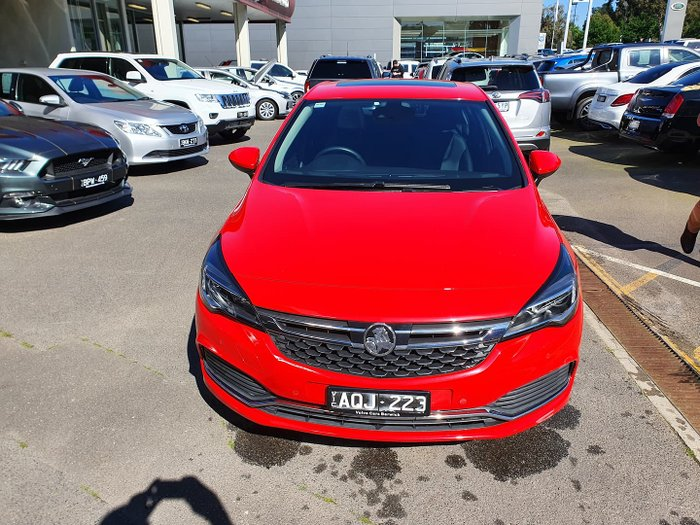 2017 Holden Astra RS-V BK MY17 Absolute Red