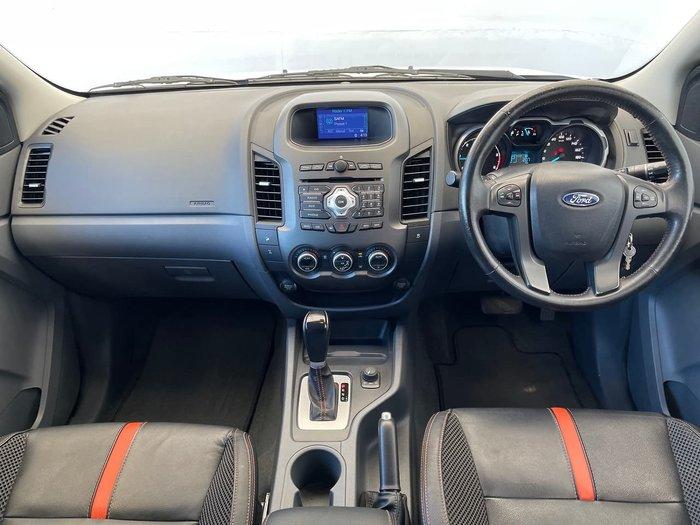 2013 Ford Ranger Wildtrak PX 4X4 Dual Range White