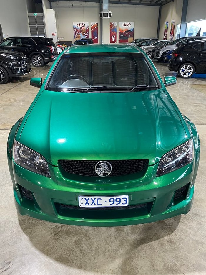 2010 Holden Commodore SS V VE MY10 Poison Ivy