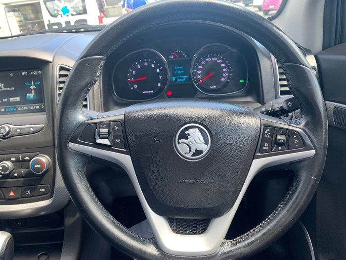 2017 Holden Captiva Active CG MY18 Nitrate Silver