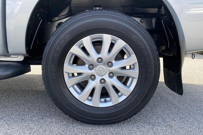 2012 Mazda BT-50 GT UP 4X4 Dual Range Silver