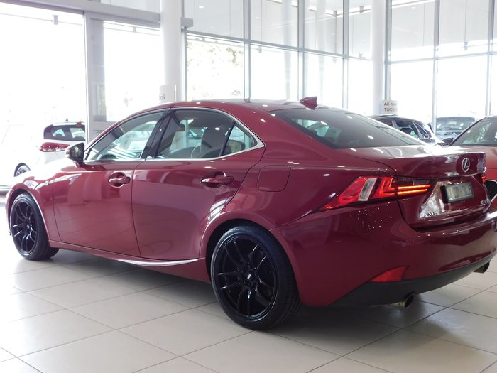 2013 Lexus IS IS250 F Sport GSE30R Red