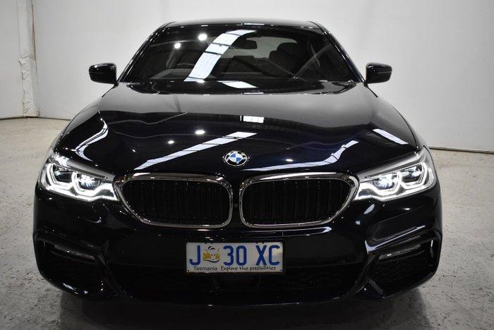 2017 BMW 5 Series 530i M Sport G30 Black