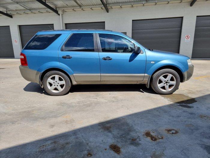 2005 Ford Territory TS SX AWD Blue