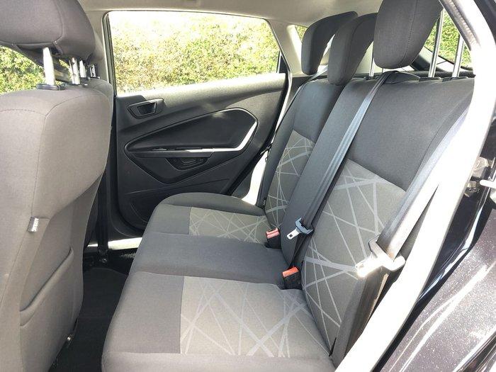 2015 Ford Fiesta Ambiente WZ MY15 Black