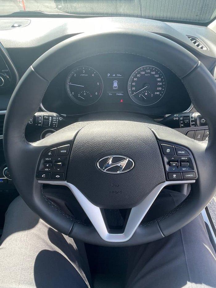 2020 Hyundai Tucson Elite TL3 MY21 AWD Platinum Silver