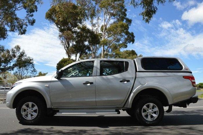 2017 Mitsubishi Triton GLX MQ MY17 4X4 Dual Range Sterling Silver