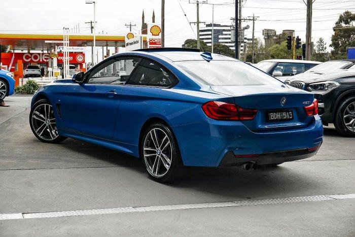2017 BMW 4 Series 420i M Sport F32 LCI Blue