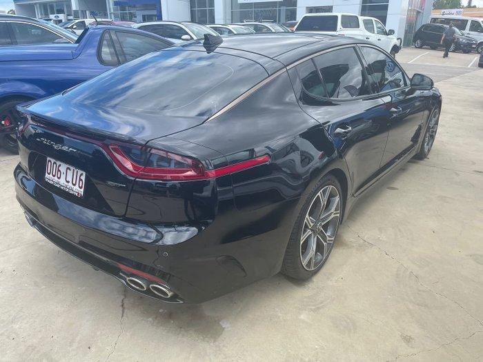 2017 Kia Stinger GT CK MY18 Aurora Black
