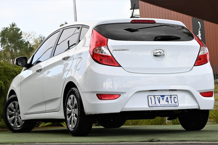 2016 Hyundai Accent Active RB3 MY16 Crystal White