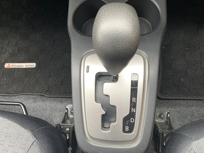 2016 Mitsubishi Mirage LS LA MY15 White